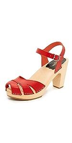 Suzzane Sandals                Swedish Hasbeens