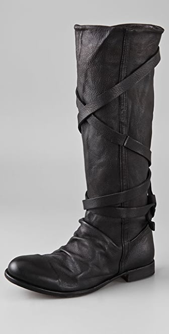 Hudson London Patti Wrap Strap Boots