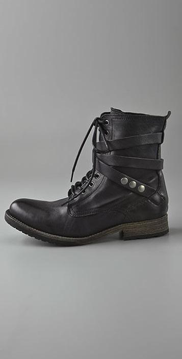 Hudson London Alba Combat Boots