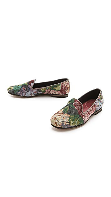 Hudson London Bolero Floral Loafers