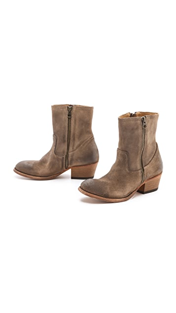 Hudson London Riley Zip Booties