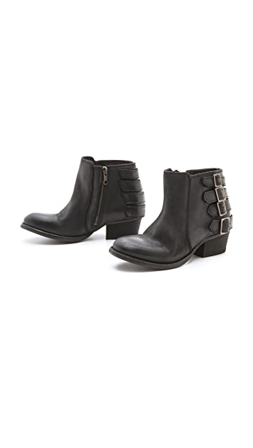 Hudson London Encke Buckle Booties