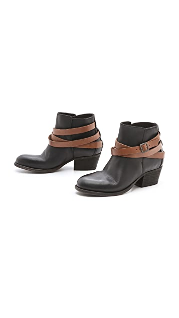 Hudson London Horrigan Wrap Strap Booties