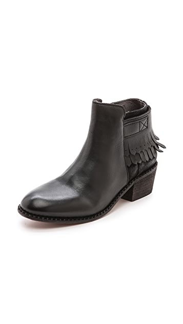 Hudson London Core Fringe Booties