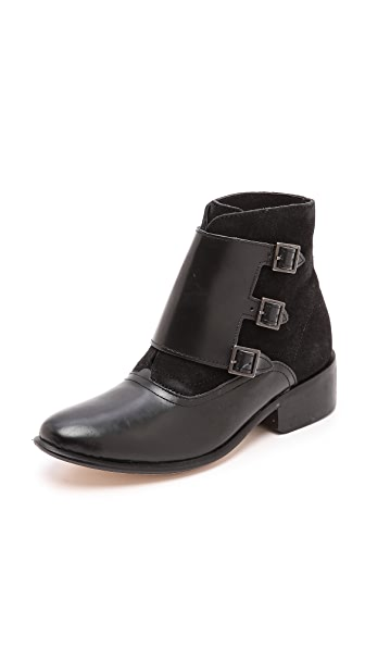 Hudson London Harbledown Monk Strap Booties