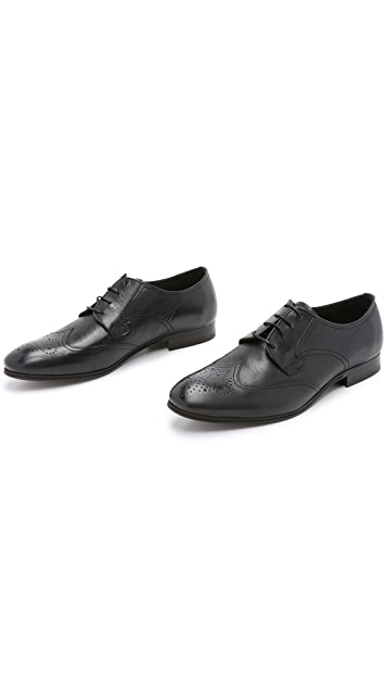 Hudson London Mansfield Wingtip Shoes
