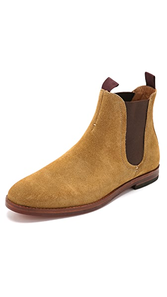 H by Hudson Tamper Suede Chelsea Boots