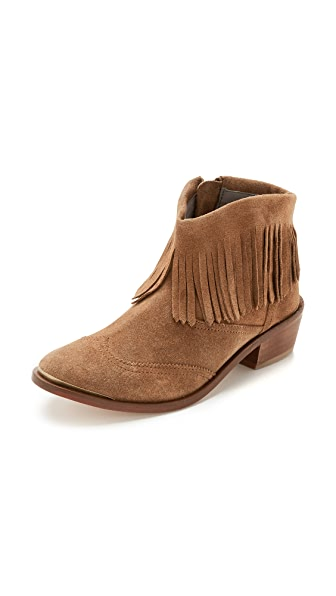 Hudson London Tala Fringe Booties