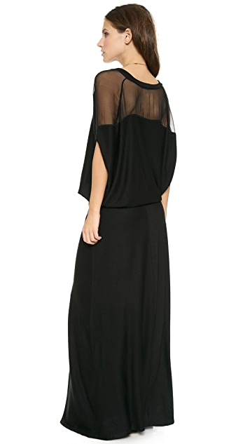 Heather Blouson Maxi Dress