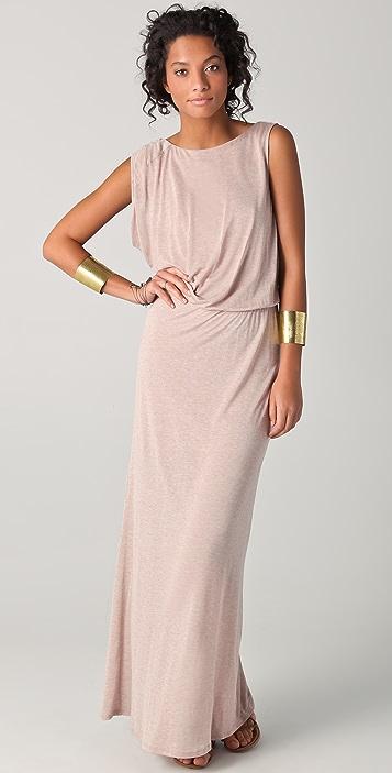 Heather Asymmetrical Maxi Dress