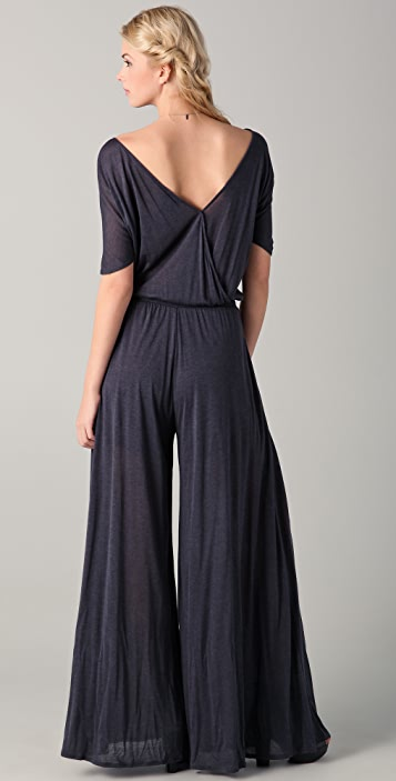 Heather V Back Jumpsuit