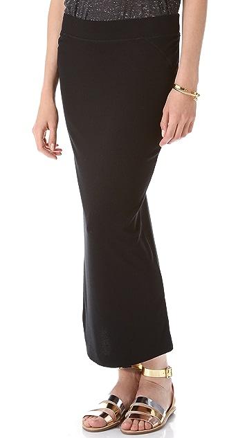 Heather Column Skirt
