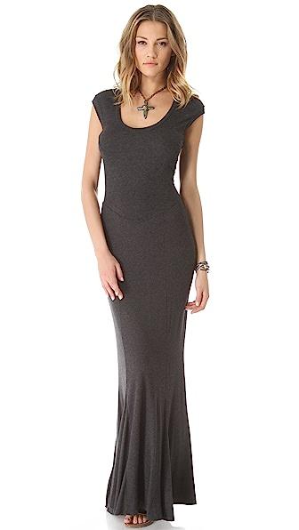 Heather Spliced Maxi Dress