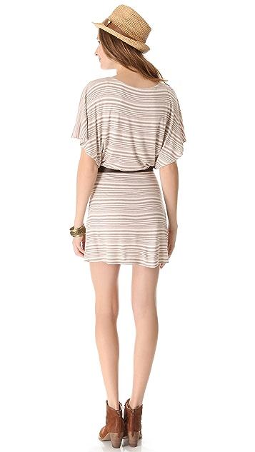 Heather Batwing Mini Dress
