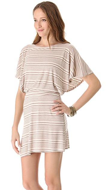 Heather Batwing Mini Dress