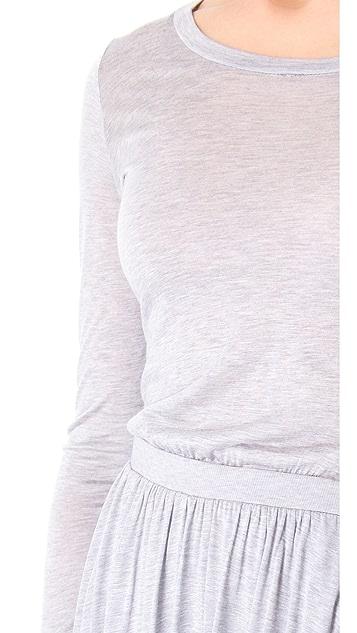 Heather Long Sleeve Maxi Dress