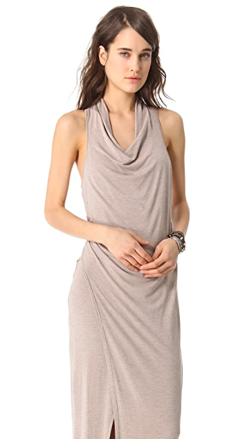 Heather Cowl Maxi Dress