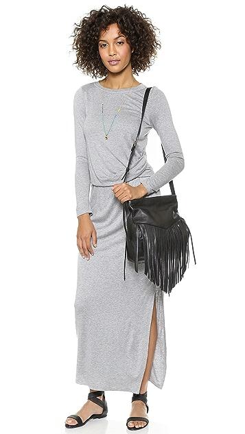 Heather Tuck Maxi Dress