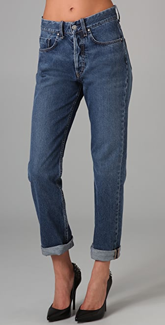 M.i.h Jeans Halsy High Rise Straight Leg Jeans
