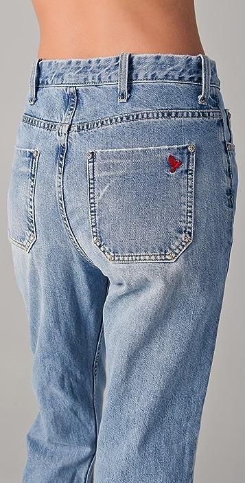 M.i.h Jeans Halsy Vintage Straight Leg Jeans