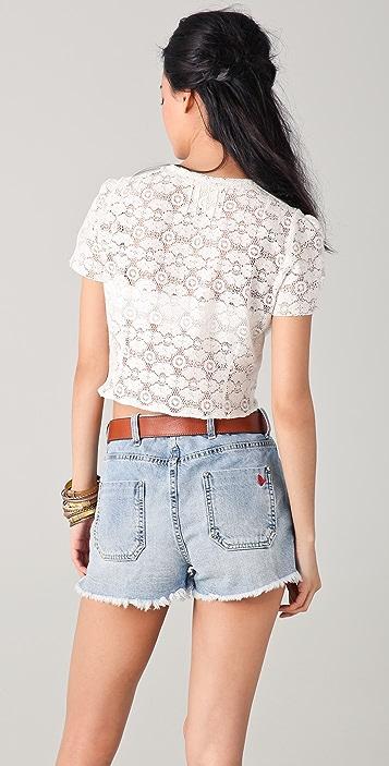 M.i.h Jeans Lace Blouse