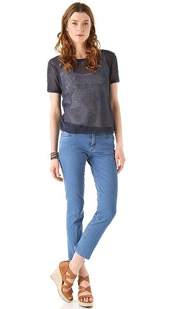 M.i.h Jeans Paris Aviator Slim Leg Jeans