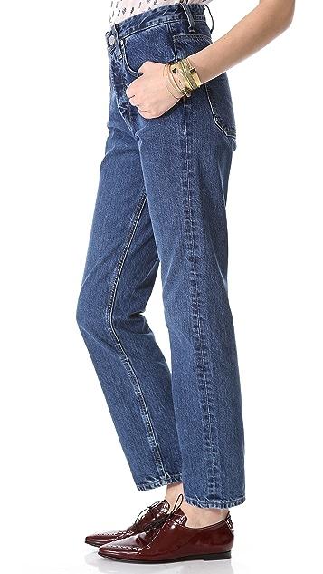 M.i.h Jeans Halsy Straight Leg Jeans