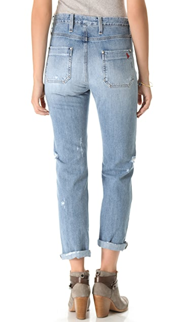 M.i.h Jeans Halsy Vintage Straight Jeans