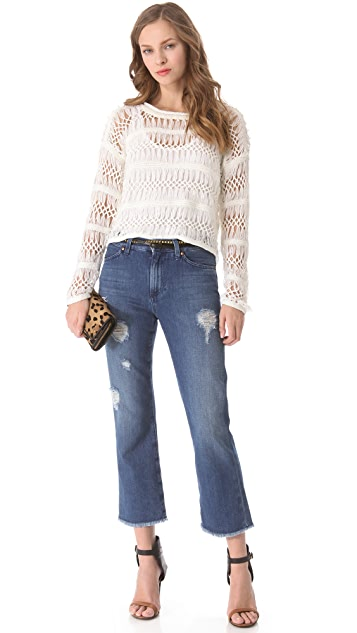 M.i.h Jeans Jane Cropped Jeans