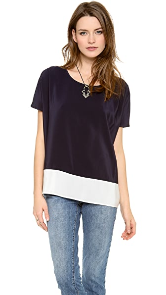 MiH The Boxy Colorblock Top