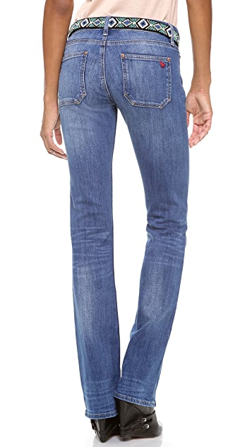 M.i.h Jeans London Mid Rise Boot Cut Jeans