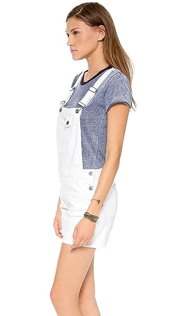 M.i.h Jeans Bib & Brace Short Overalls