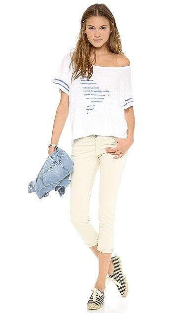 M.i.h Jeans The Athens Capri Jeans