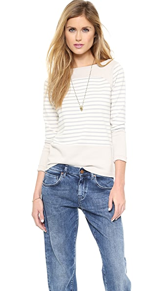 M.i.h Jeans The Breton Saddle Top