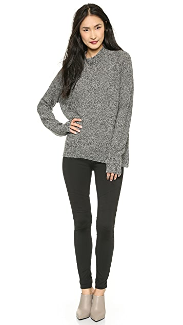 M.i.h Jeans The Polo Neck Sweater