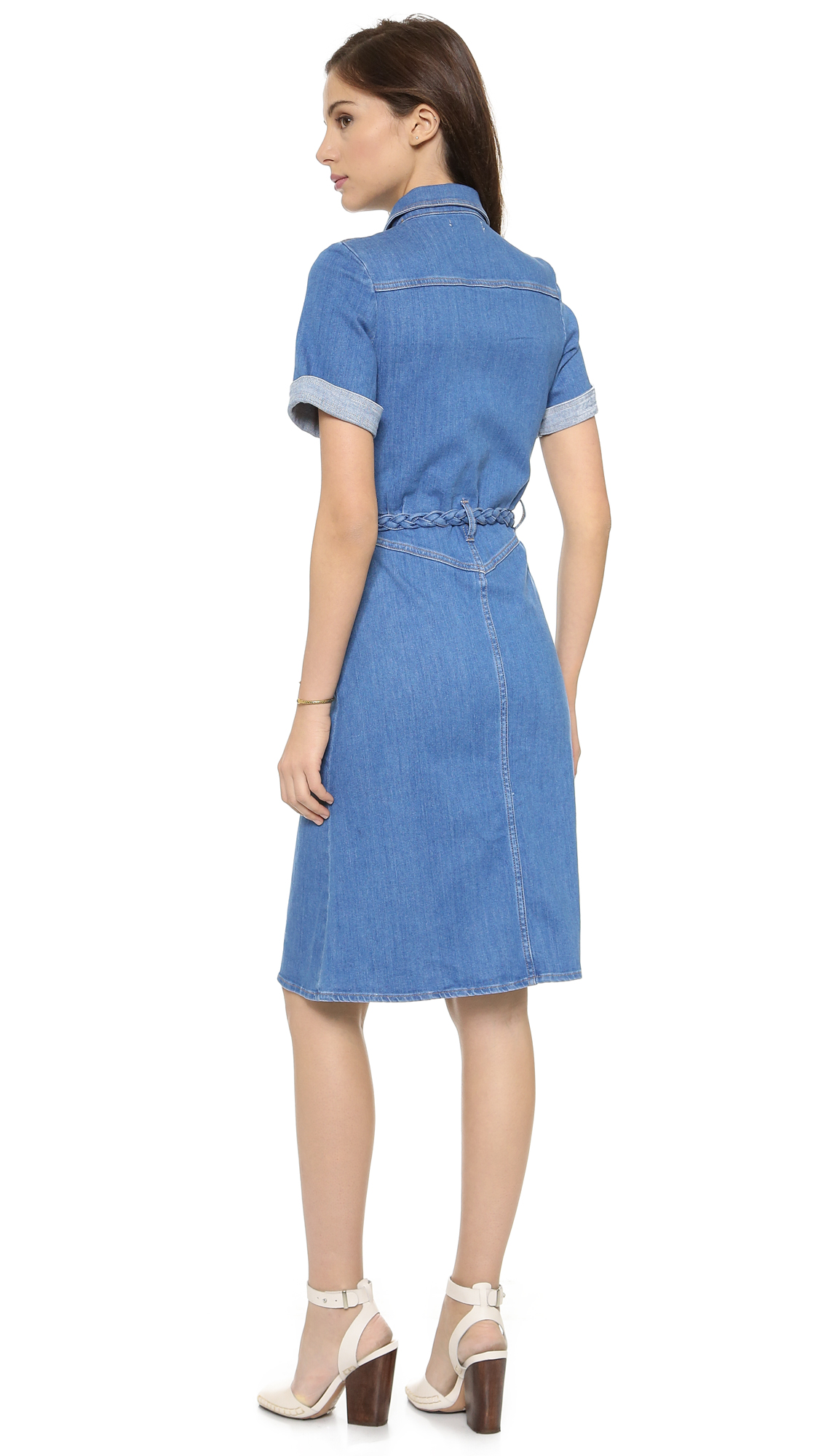 ad3ddd9066e M.i.h Jeans The  70s Denim Dress