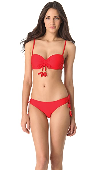 Heidi Klein Mumbai Tassel Bikini Top