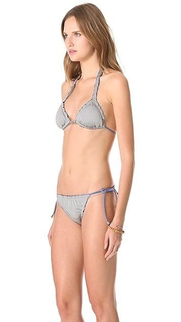 Heidi Klein Andaman Reversible Bikini Top