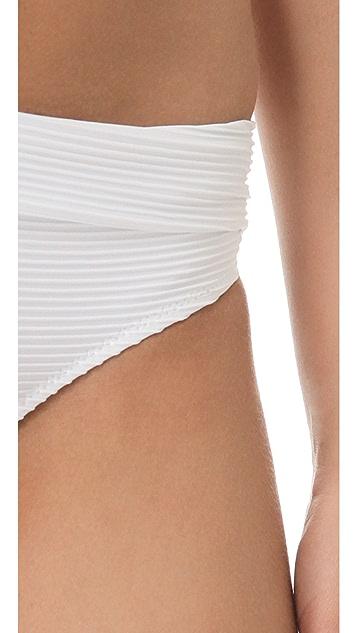 Heidi Klein White Sands Bikini Bottoms