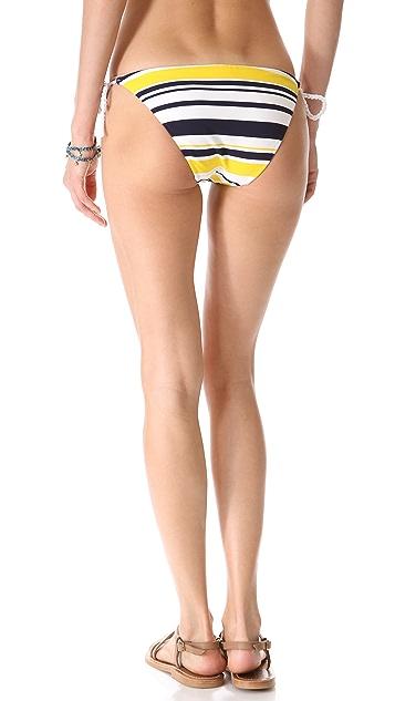 Heidi Klein Willow Bay Tie Side Bikini Bottoms