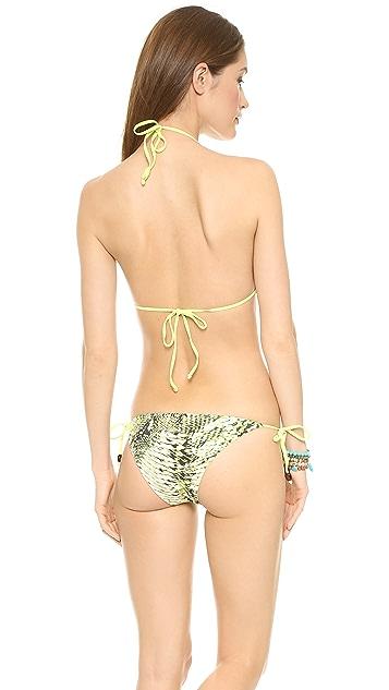 Heidi Klein Zambia Reversible Triangle Bikini Top