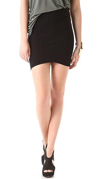 HELMUT Helmut Lang Cocoon Seamed Skirt