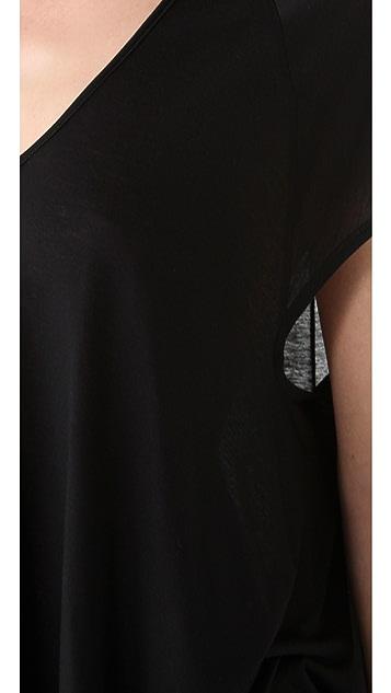 HELMUT Helmut Lang Kinetic Jersey Oversized Tee