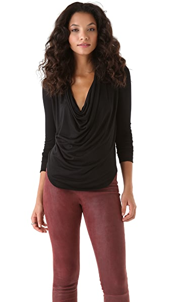 HELMUT Helmut Lang Kinetic Jersey Top