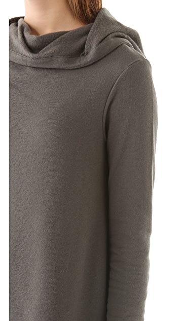 HELMUT Helmut Lang Soft Hooded Sweatshirt