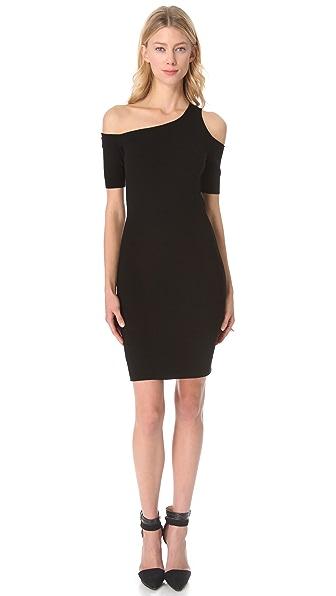 HELMUT Helmut Lang Gala One Shoulder Dress