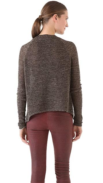 HELMUT Helmut Lang Linen Alpaca Blend Sweater