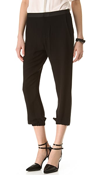 HELMUT Helmut Lang Flash Drape Pants