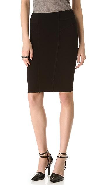 HELMUT Helmut Lang Gala Knit Skirt