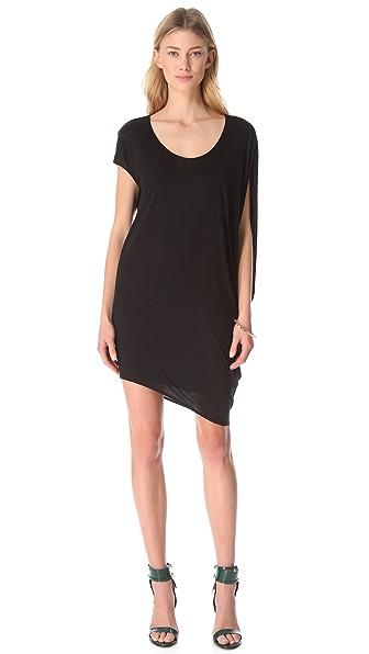 HELMUT Helmut Lang Kinetic Asymmetrical Dress
